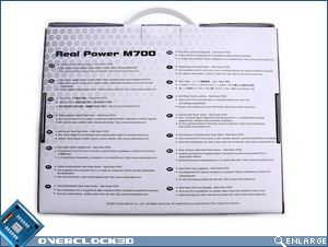 Cooler Master Real Power Pro M700 Box Back