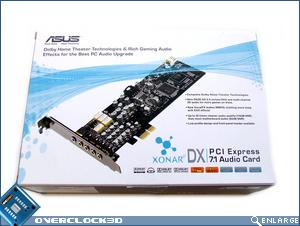 Asus Xonar DX Box Front