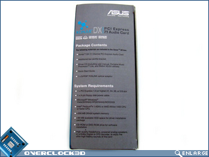 Asus Xonar DX Box Side