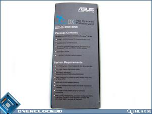 Asus Xonar DX Box Side