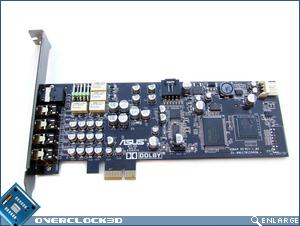 Asus Xonar DX PCB Front