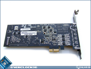 Asus Xonar DX PCB Back