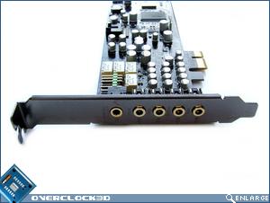 Asus Xonar DX Sockets