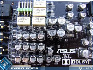 Asus Xonar DX VRM's
