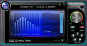 Asus Xonar DX Audio Center