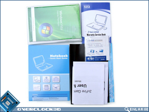 MSI GX600 Accessory CD's