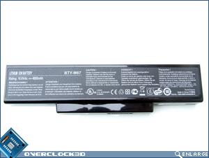 MSI GX600 Battery