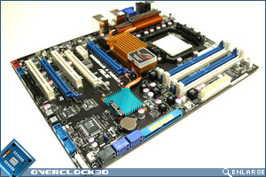 Asus Crosshair II Board Side