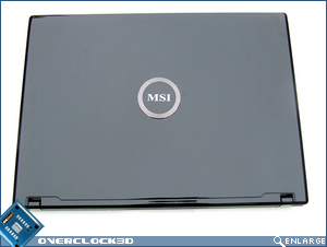 MSI GX600 Top