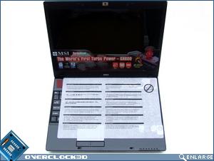 MSI GX600 Open