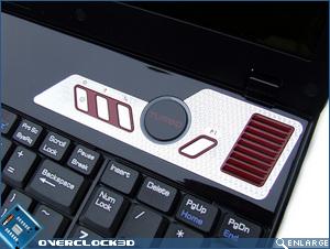 MSI GX600 Turbo Button