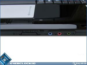 MSI GX600 Front Ports