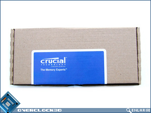 Crucial Ballistix PC3-16000 Packaging