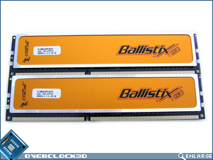 Crucial Ballistix PC3-16000 Front