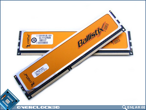 Crucial Ballistix PC3-16000 Crossed