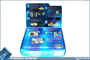 Asus P5Q Deluxe Box Open