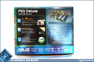 Asus P5Q Deluxe Box Back