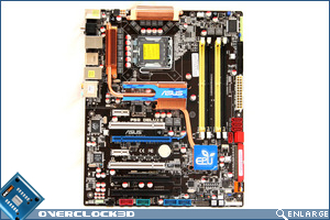Asus P5Q Deluxe Board Top