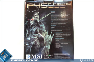 MSI P45 Diamond Box Front