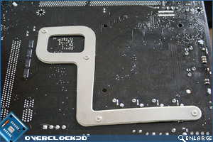 MSI P45 Diamond Backplate