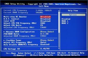 MSI P45 Diamond BIOS