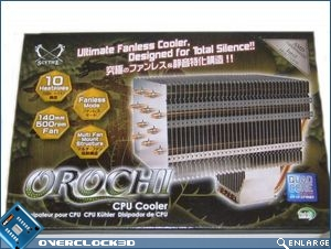 Orochi front of box
