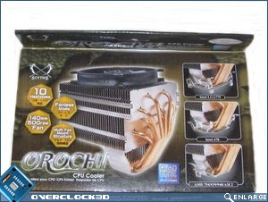 Orochi top of box