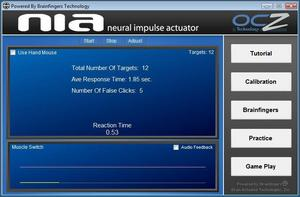 OCZ NIA Reaction Times