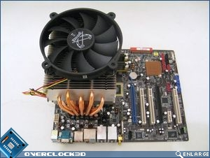 Heatsink mounted