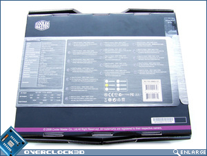 Cooler Master Silent Pro 700w Box Back