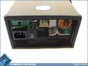 Cooler Master Silent Pro 700w Back