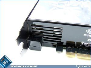MSI N280GTX Vents