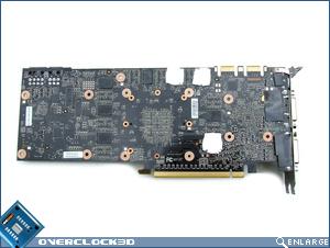 MSI N280GTX PCB Back