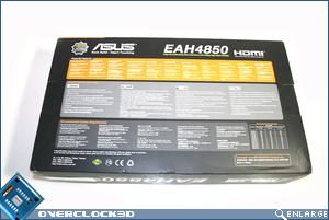 ASUS 4850 box rear