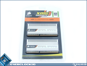 Corsair XMS3 DHX Packaging Front