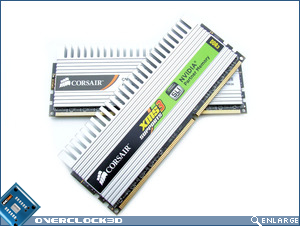 Corsair XMS3 DHX Crossed