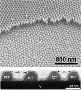 nano-capacitors