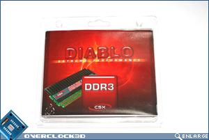 CSX Diablo PC3-1600 Front