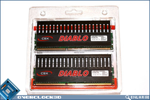 CSX Diablo PC3-1600 Back