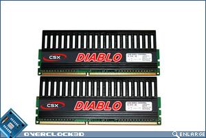 CSX Diablo PC3-1600 Module Front