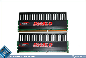 CSX Diablo PC3-1600 Module back