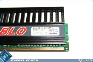 CSX Diablo PC3-1600 Sticker
