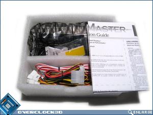 Kaze Master inner box contents