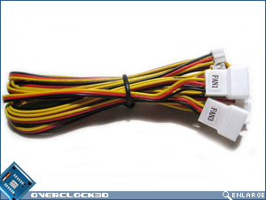 labelled fan cables