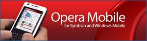 Opera Mobile banner