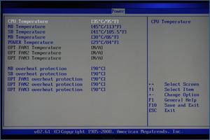 Temp monitor