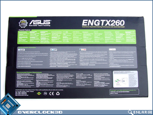 ASUS ENGTX260 Back
