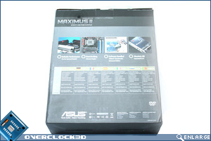 ASUS Maximus II Box Back
