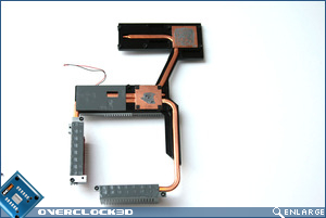 ASUS Maximus II Heatsink assembly