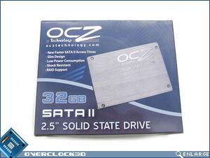OCZ 32GB SSD Box Front
